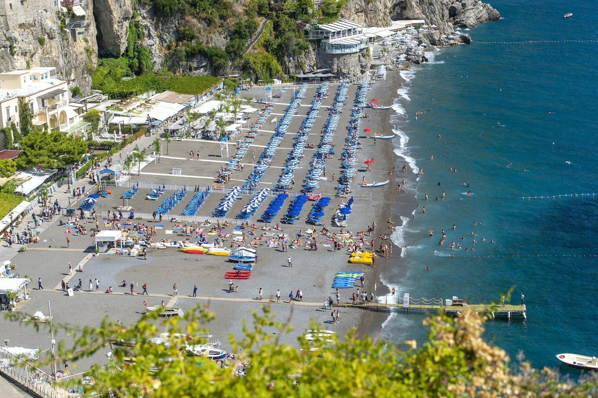 Exclusive Villa with Positano Beach View