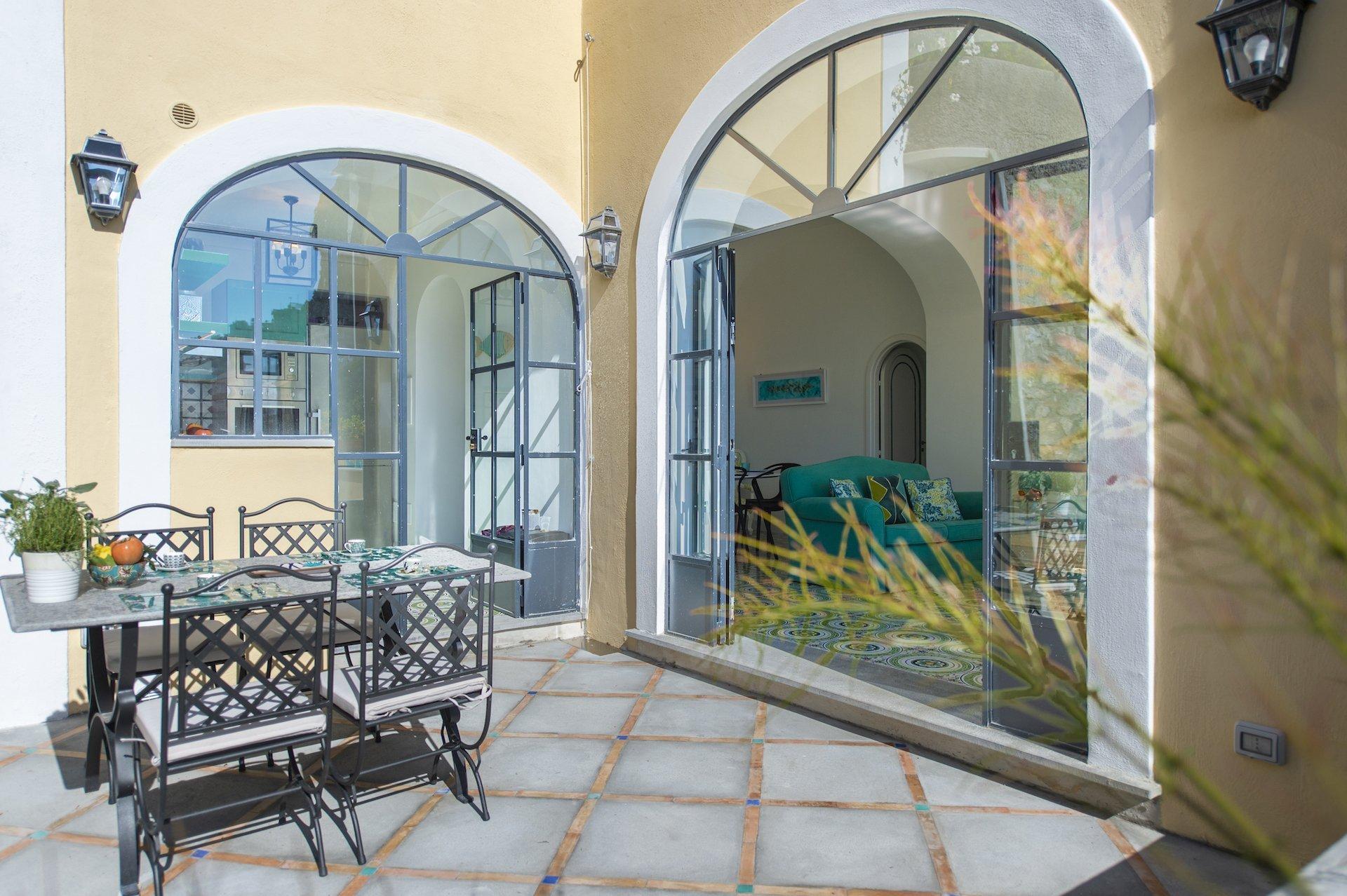 Luxury Villa in Positano with Sea View