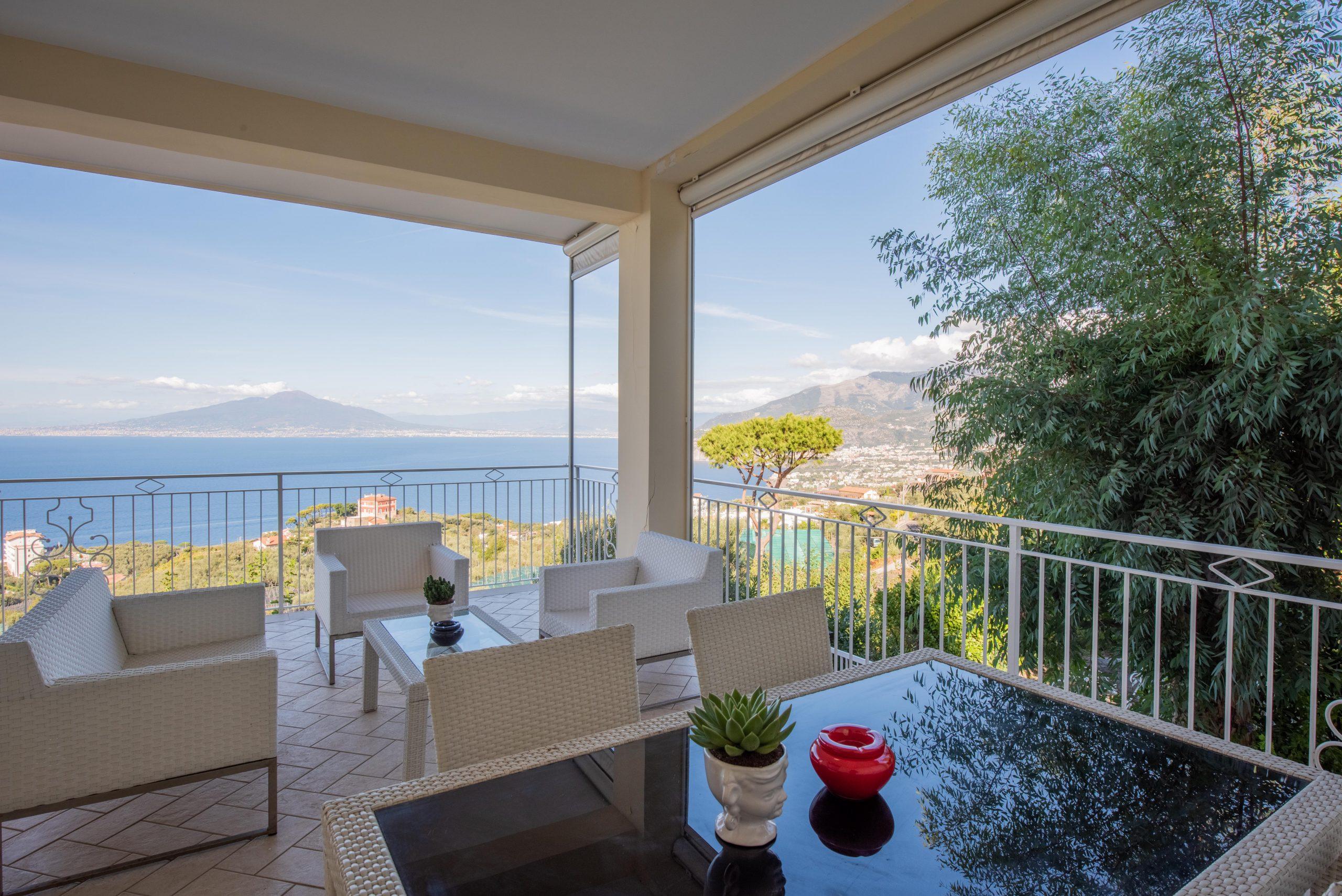 Villa Acampora Sorrento Sea View