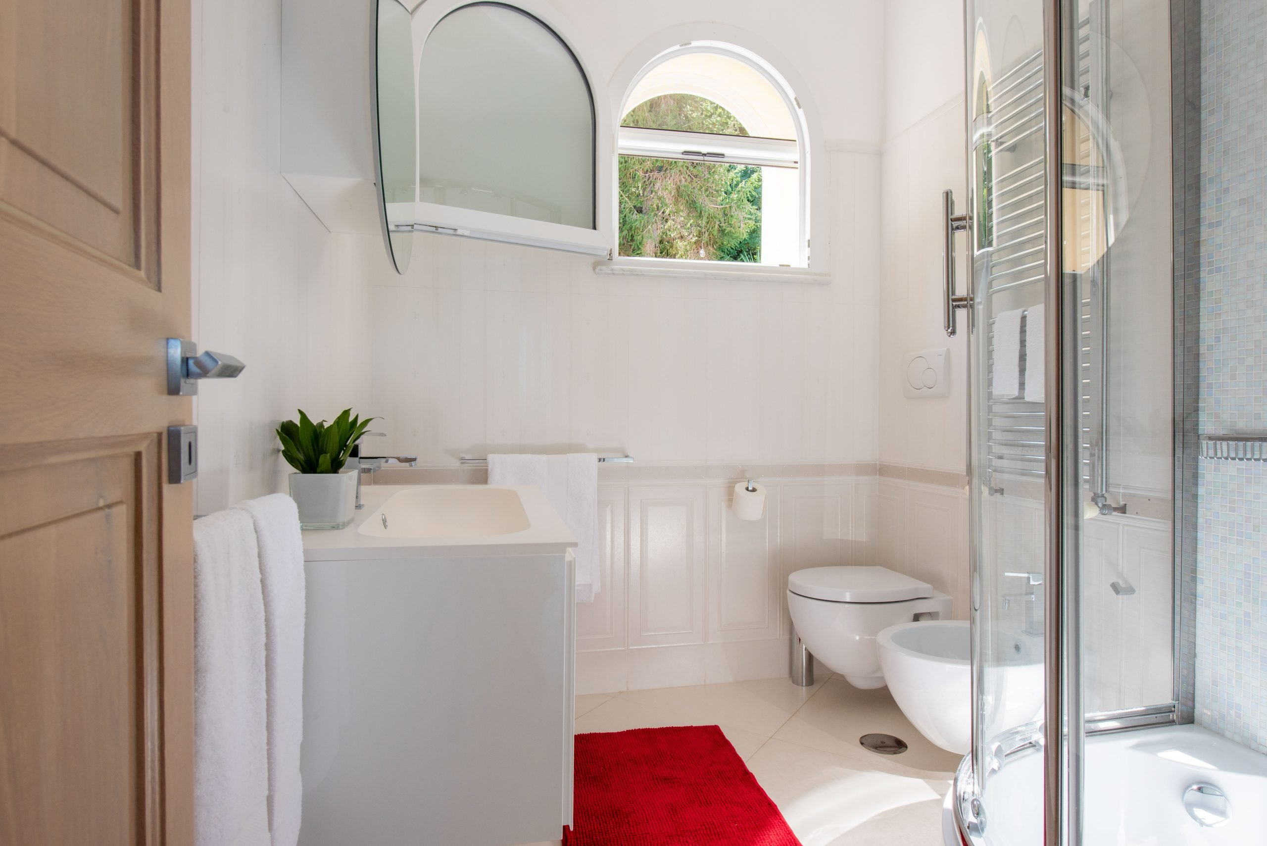 Villa Acampora Sorrento Bathroom