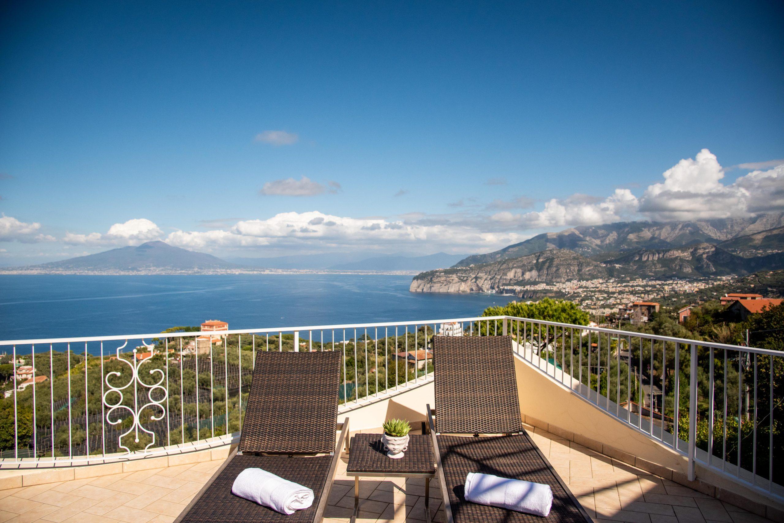 Villa Acampora Sorrento Sea View Terrace