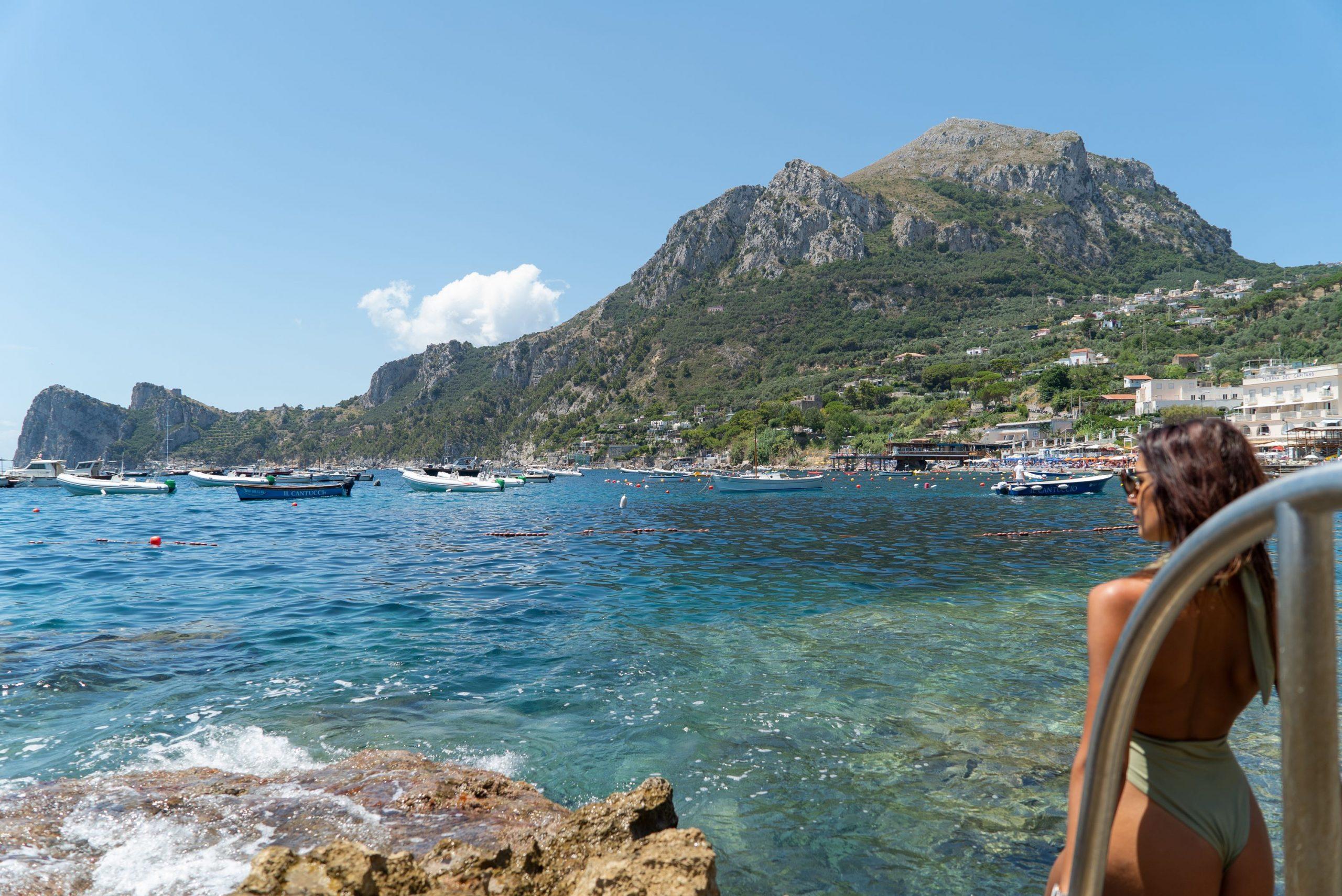 Villa Sorrento Coast with swimming pool and beach