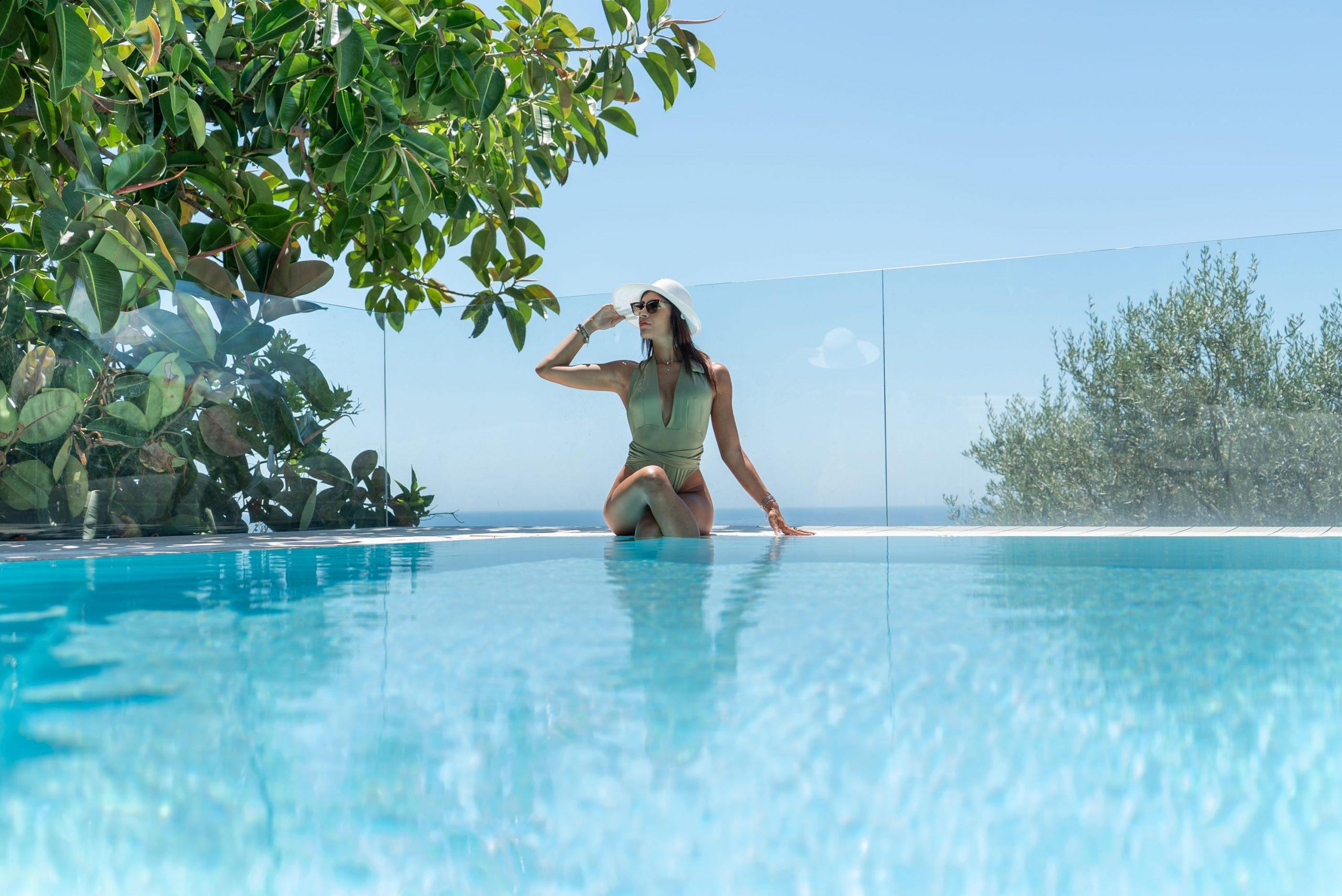 Villa Sorrento Coast with swimming pool and sea view