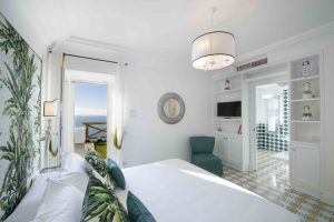 Amalfi Coast Exclusive Villa in Praiano with Pool & View - Bedrooms