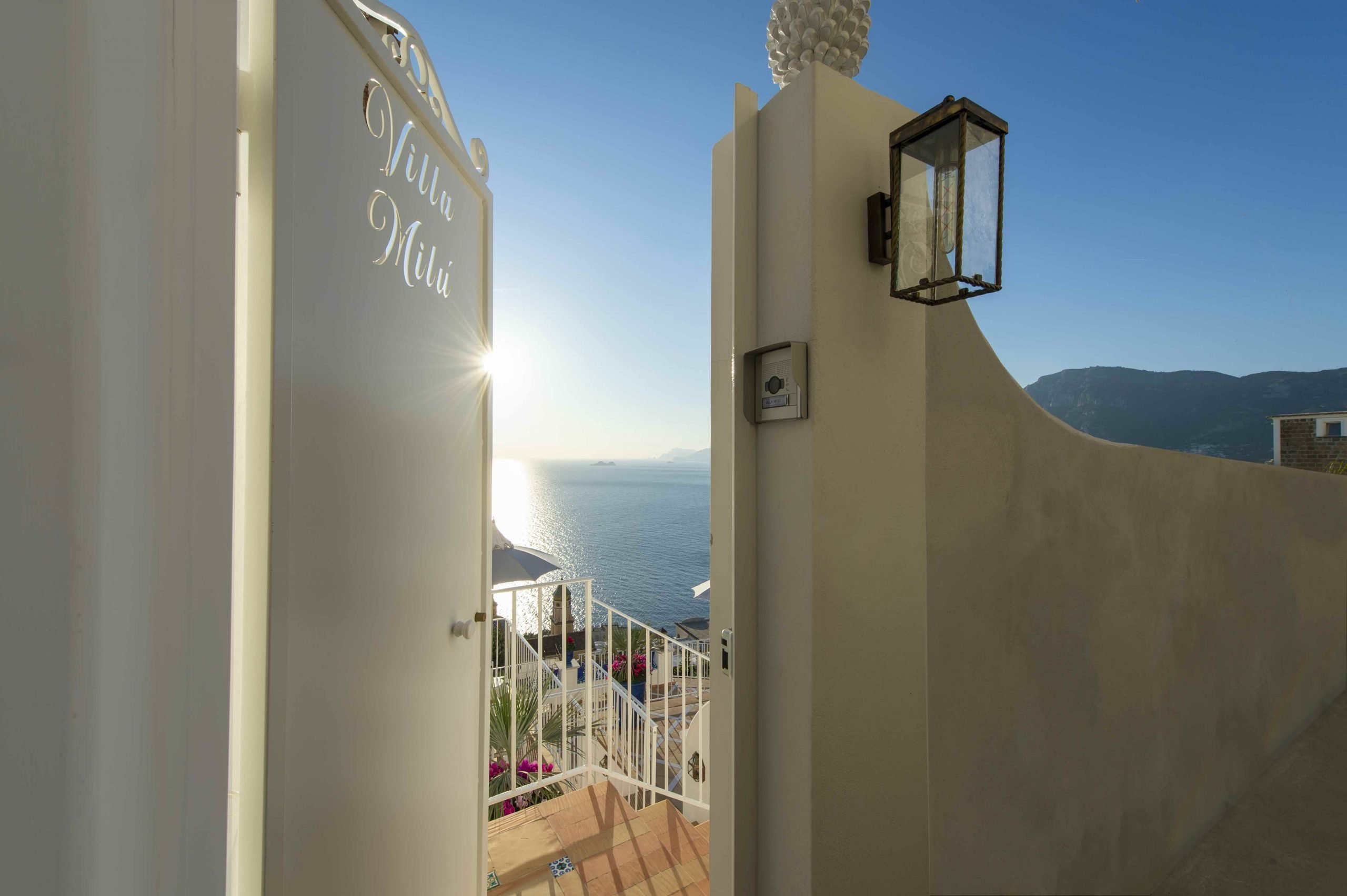 Amalfi Coast Exclusive Villa in Praiano with Pool & View - Exteriors
